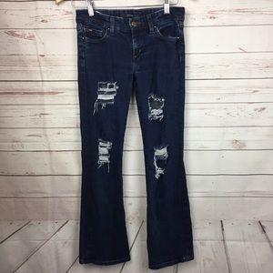 JOE'S JEANS Provocateur Skinny 24 Jeans Destroyed